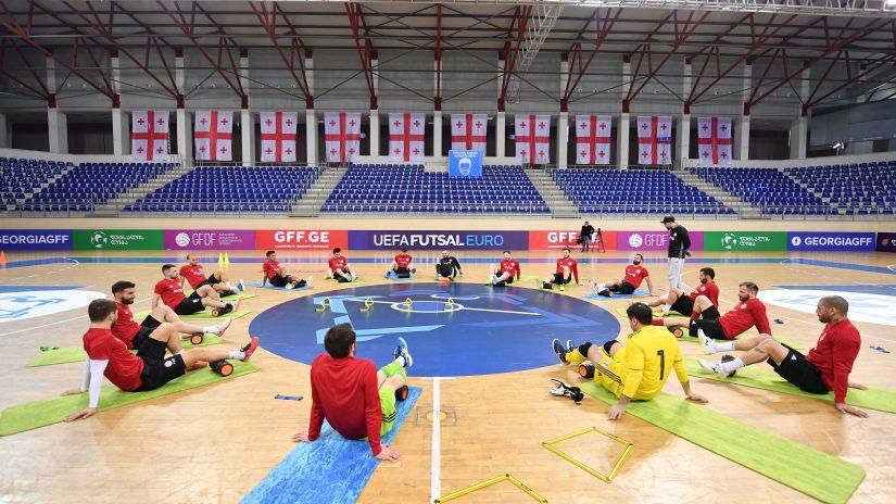 Euro 2022 | Géorgie - Arménie au Palais Olympique de Tbilissi