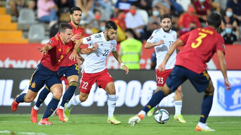 ესპანეთი 4:0 საქართველო